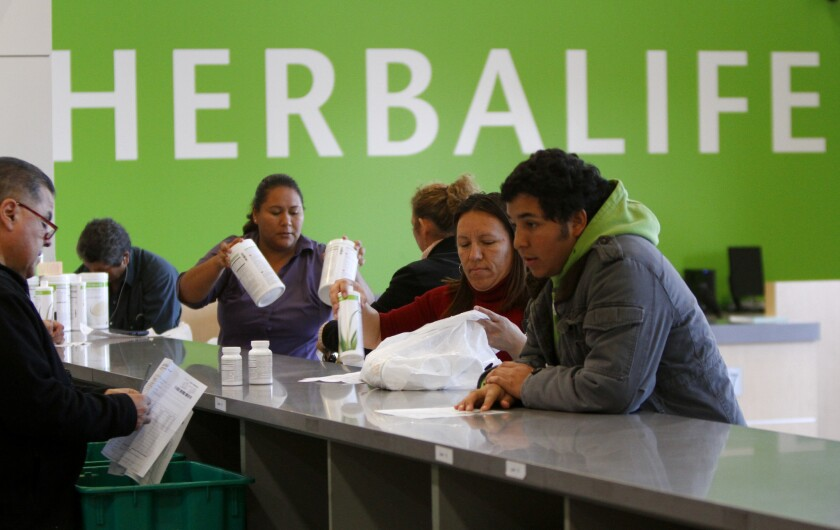 Herbalife distributors who lost money get refunds