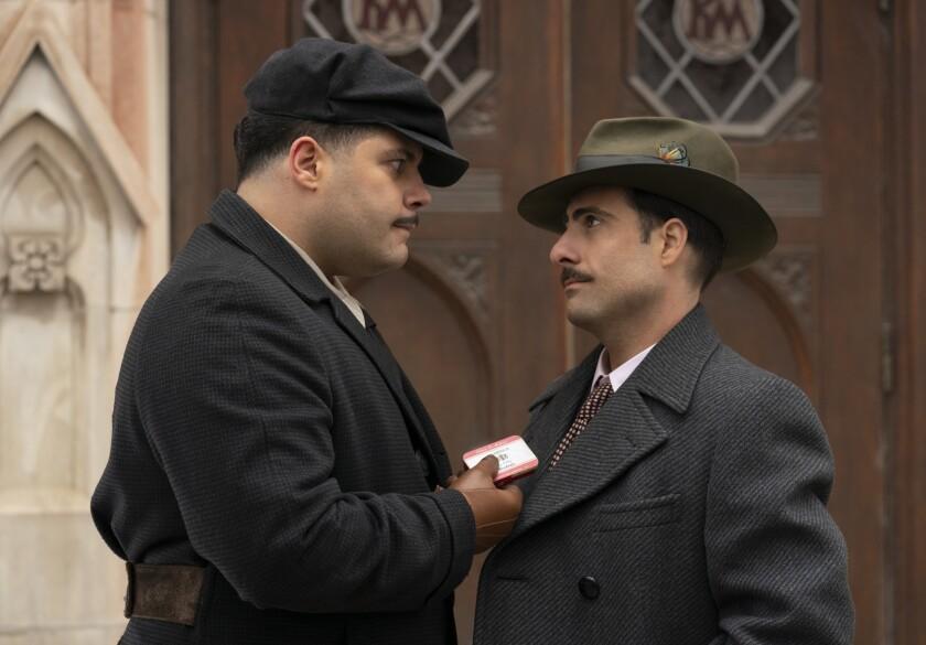 """Salvatore Esposito and Jason Schwartzman in FX's """"Fargo."""""""
