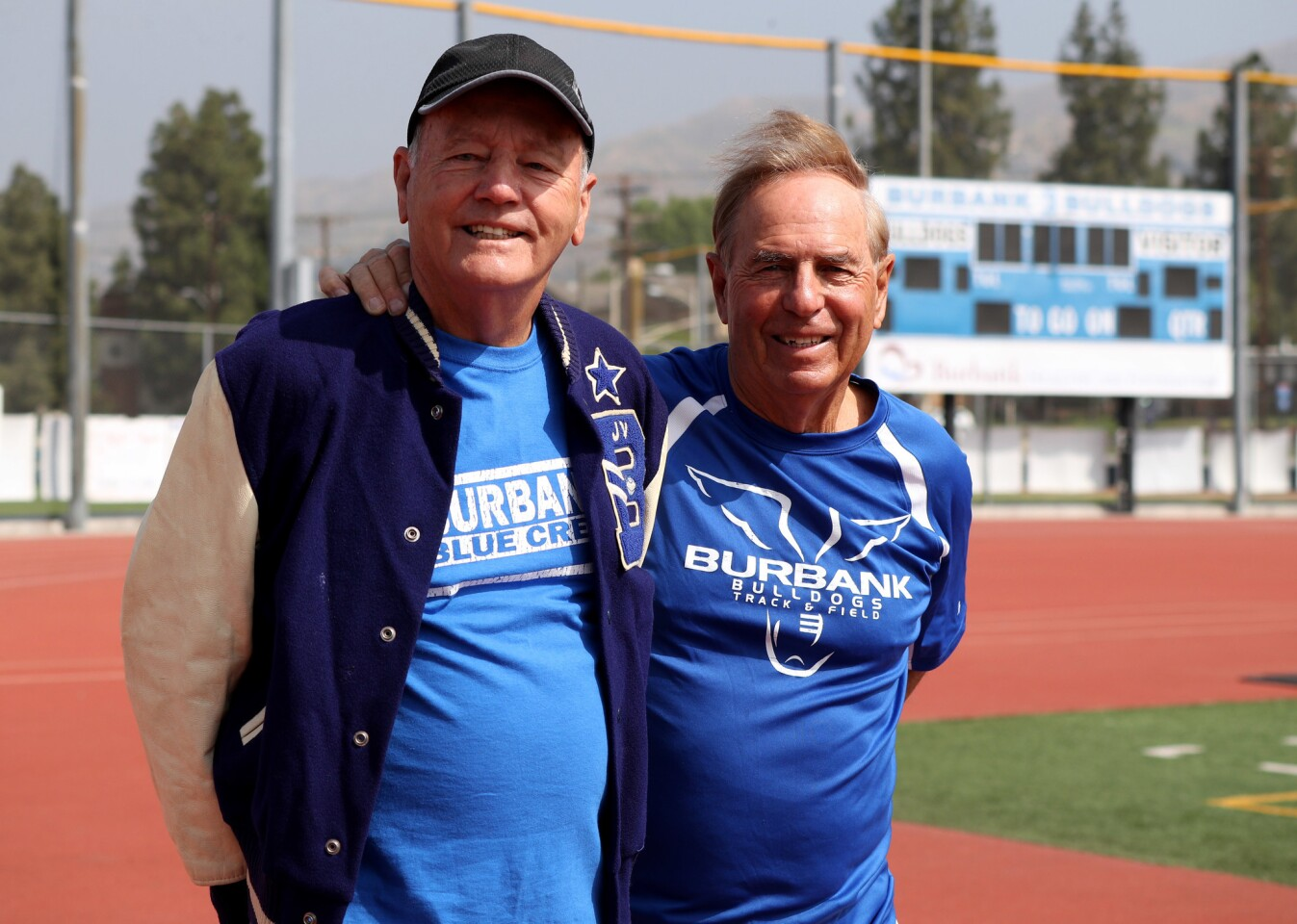 Photo Gallery: Former coaches Kemp, Kallem honored at Burbank High