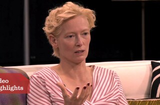 Oscars Round Table: Tilda Swinton on 'Snowpiercer'