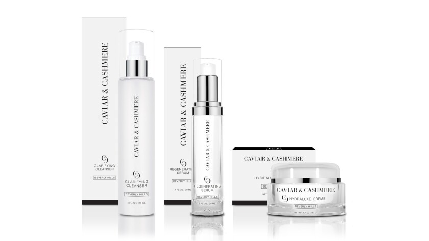 CC Product Grouping - Los Angeles stylist and influencer Caitlyn Chase in July launched a skincare l