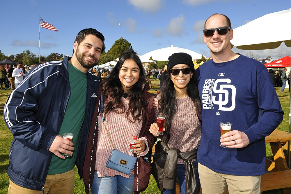 The sun peaked out for the San Diego Brew Festival at Liberty Station on Saturday, Jan. 12, 2019.