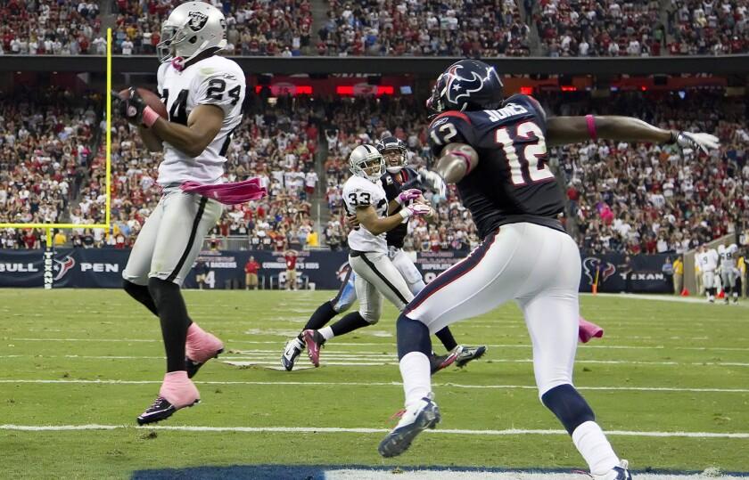 Los Oakland Raiders serían locales ante los Houston Texans en Ciudad de México.