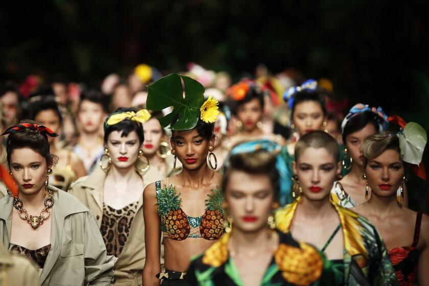 Italy Fashion S/S 2020 Dolce & Gabbana