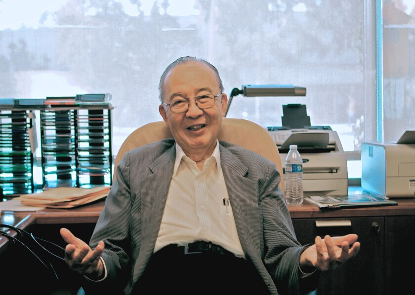 Shu Chien, recently retired founding chair of UCSD's bioengineering department, helped pioneer the study of blood flow as an engineering issue.
