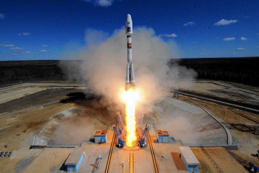 Russian Soyuz launch