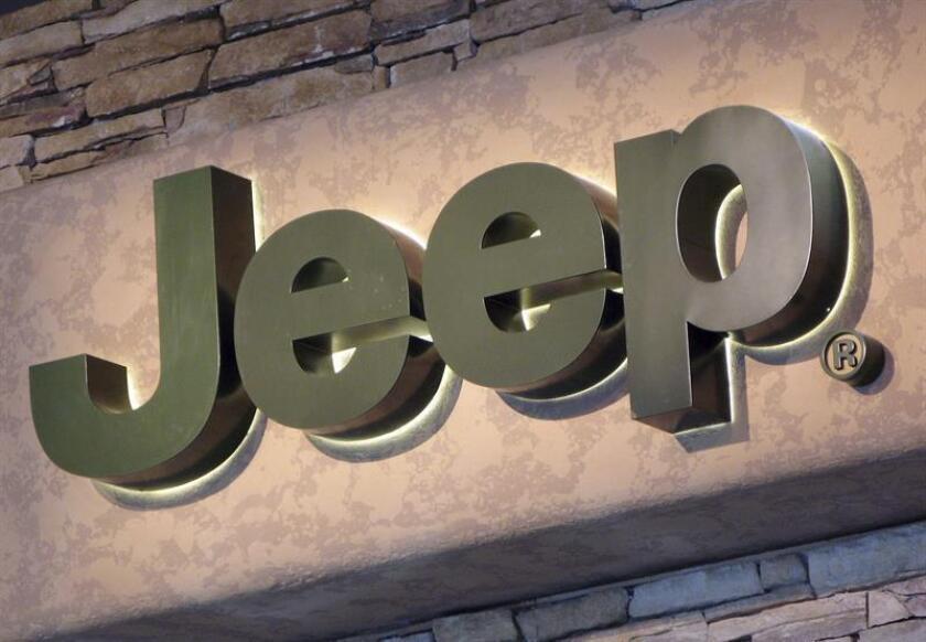 Imagen del logotipo del fabricante Jeep. EFE/Archivo