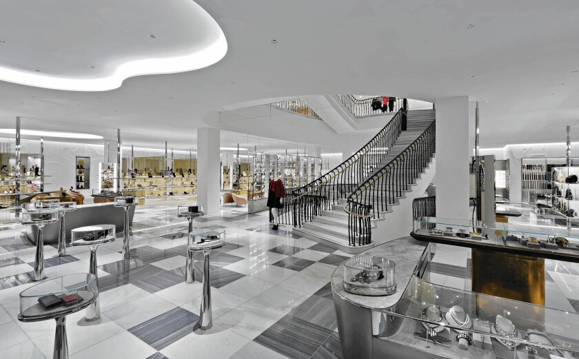 The new-look Barneys New York in Beverly Hills