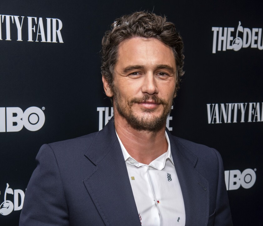 En esta imagen del 5 de septiembre de 2019, James Franco