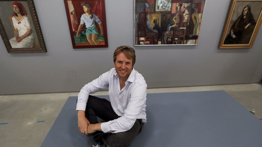 Justinian Jampol, founder and executive director of the new museum.