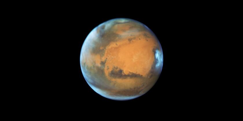Mars by Hubble