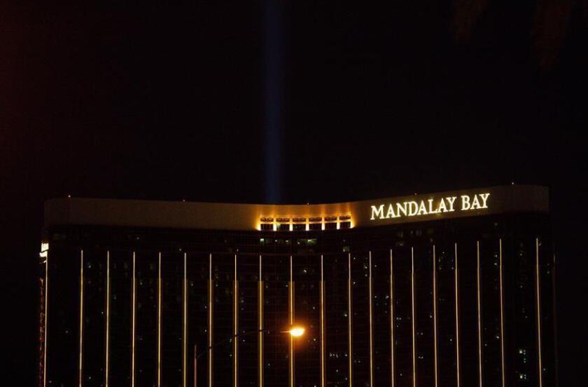 Douglas Haig, de 55 años, fue acusado hoy formalmente de fabricar y vender sin licencia un tipo de munición a Stephen Paddock, el autor de la masacre ocurrida en Las Vegas en octubre de 2017 y que dejó 58 muertos. EFE/ARCHIVO
