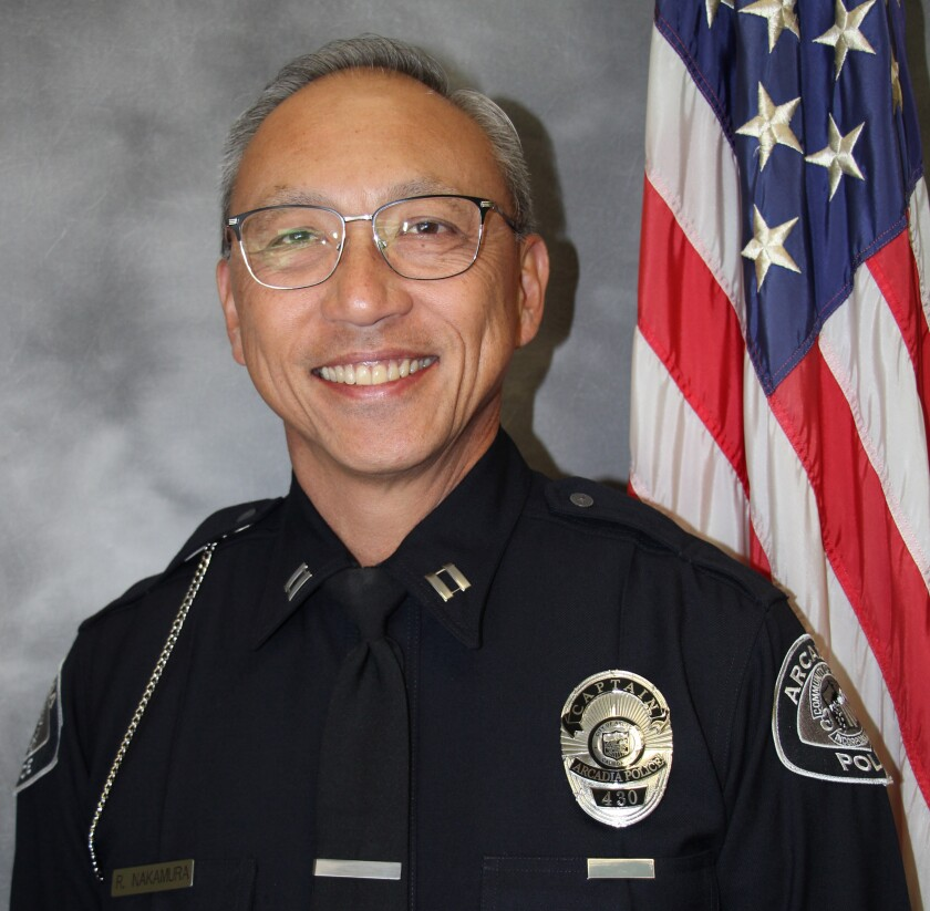 Roy Nakamura will be Arcadia's first police chief of Japanese descent.
