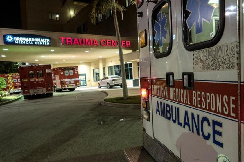 El accidente se produjo esta madrugada en el condado de Osceola (centro de Florida) y estuvieron involucrados al menos tres vehículos, recogió el canal local WESH2. EFE/Archivo