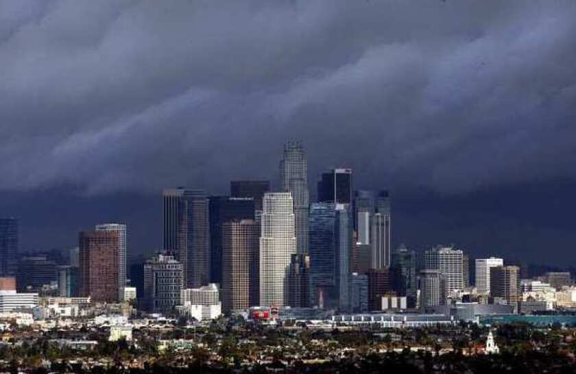 The Los Angeles metropolitan area is among the most financially distressed in the country, according to a new report.