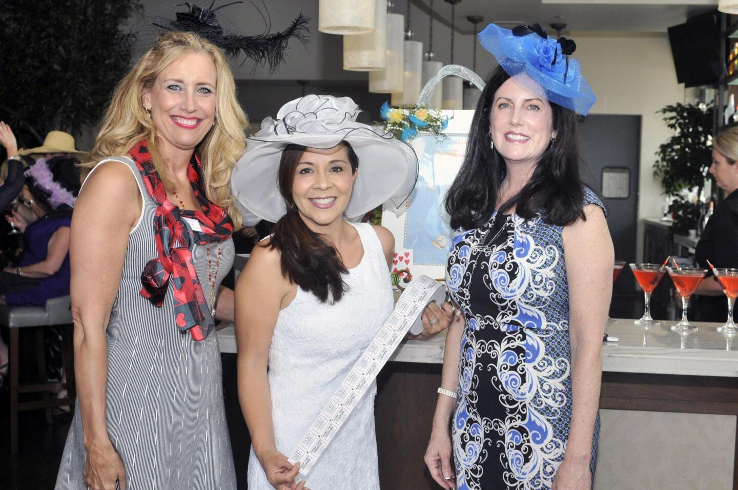 Event chair Denise Stein, Lory Fisher, Suzan Isber