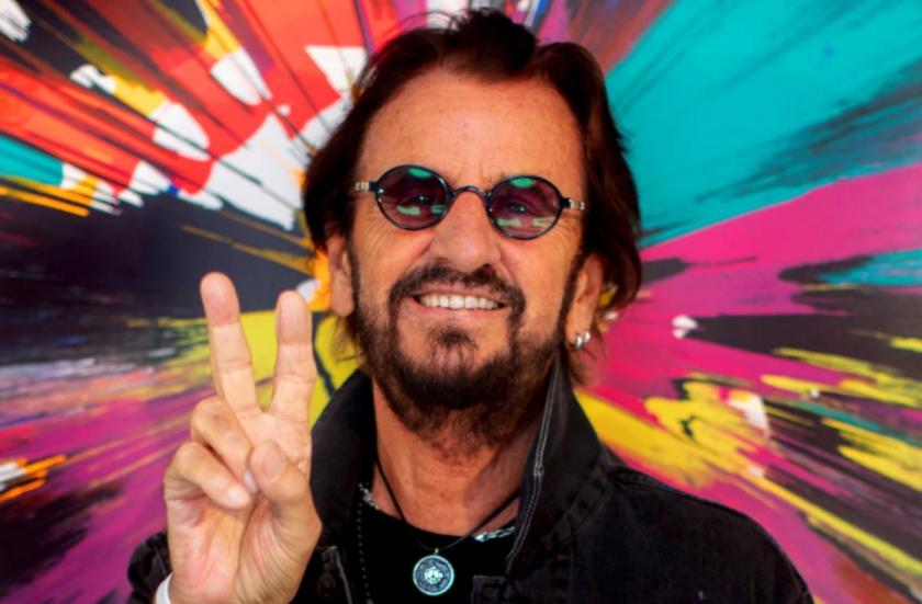 el exbaterista de The Beatles, Ringo Starr,