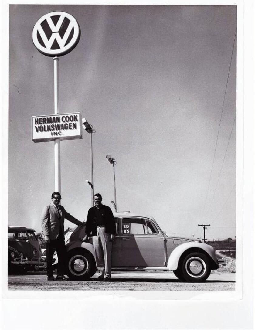 Herman Cook Volkswagen opened in 1967