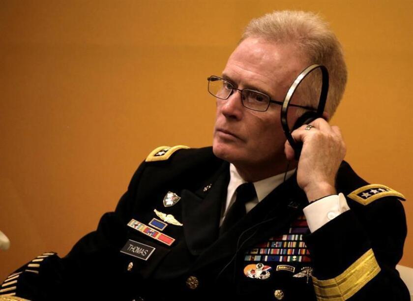 El comandante del Mando de Operaciones Especiales de EE.UU., el general Raymond Thomas. EFE/Archivo
