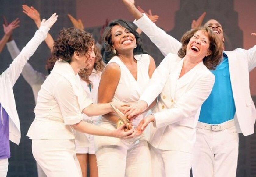 REVENGE OF THE SPURNED: Barbara Walsh, left, Sheryl Lee Ralph and Karen Ziemba band together after their husbands jump into bed with younger girlfriends.