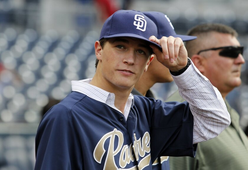 Harvard-Westlake High School's Max Fried was drafted seventh overall by the Padres in 2012.