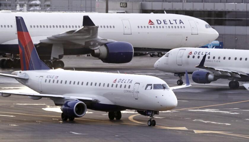 Delta Air Lines is based in Atlanta.