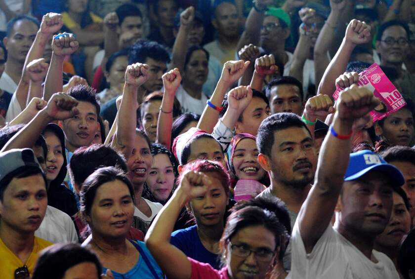 Duterte rally