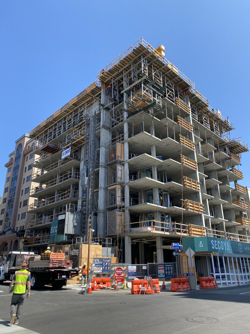 The Secoya project in Banker's Hill will offer 73 affordable studio apartments.