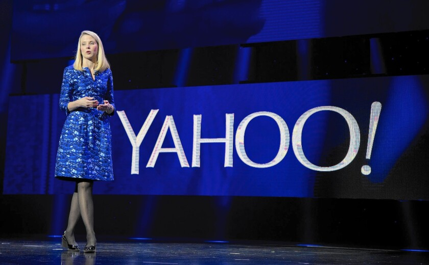 Yahoo CEO Marissa Mayer is under pressure