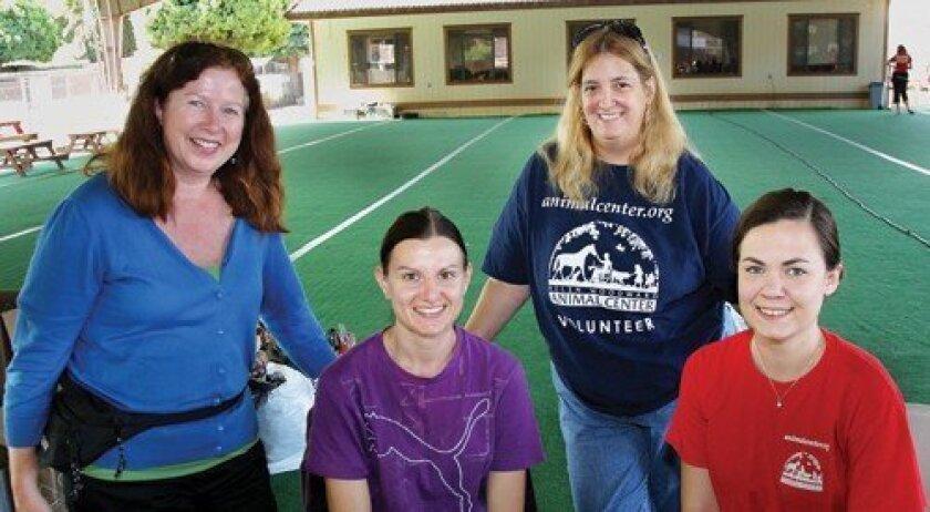 Claire Benton, Kathy Jones, Laura Goodman, Laurel Crump (Photo: Jon Clark)