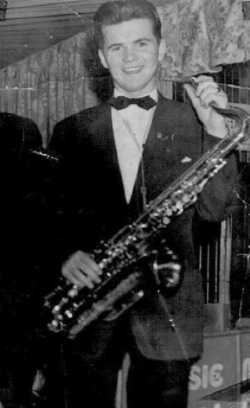 """Charlie Kennedy was in many bands and, as a studio musician, played on the scores for """"West Side Story"""" and """"My Fair Lady."""""""