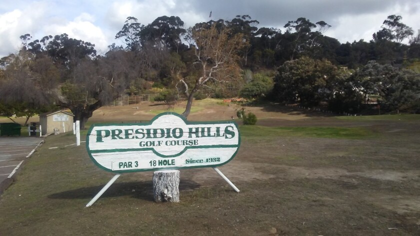 This is what the course looked like in November before the rains came.
