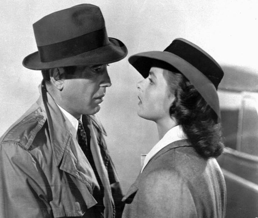 "The Oscar-winning 1942 film ""Casablanca,"" starring Humphrey Bogart and Ingrid Bergman as the reunited lovers Rick and Ilsa, is the favorite film of Hugh Hefner."