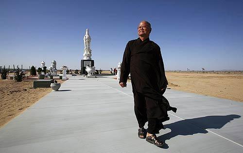Buddist monk Thich Dang Phap