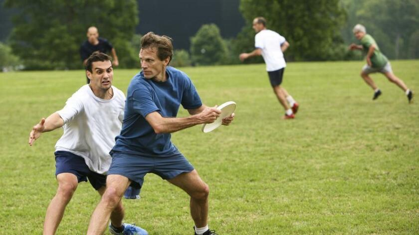 Ultimate Frisbee has a great fitness aspect, but also a great social game. (Teresa Pigeon)