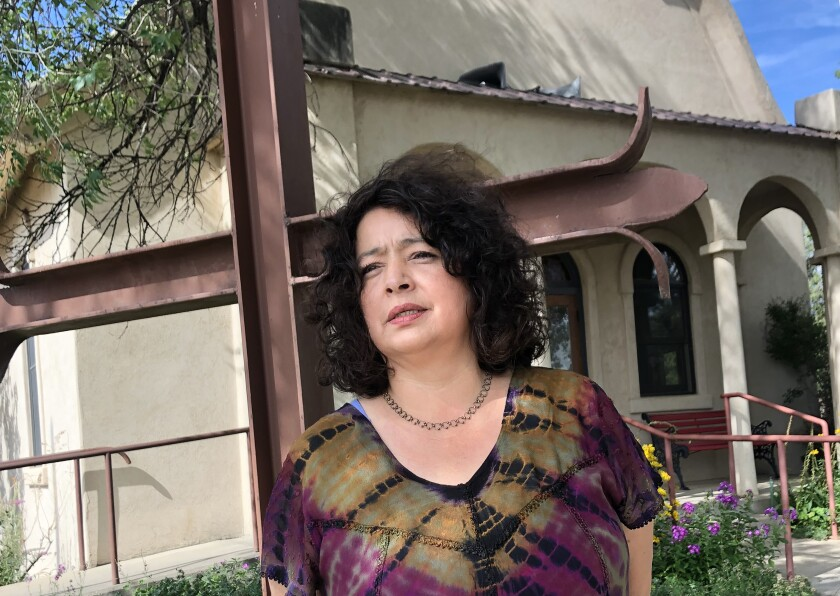 Rosa Sabido has spent more than three years in the Mancos United Methodist Church in Colorado to avoid deportation.