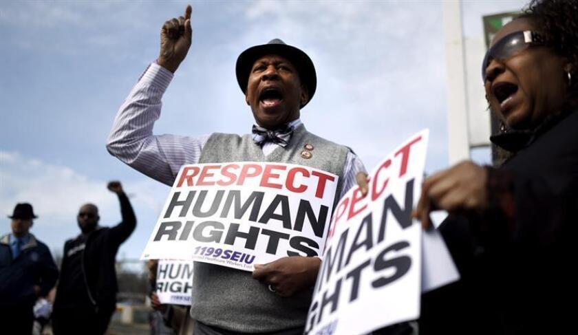 La Red Fronteriza por los Derechos Humanos lanzó hoy en El Paso (Texas) su campaña anual de 2018 para recabar informes sobre posibles abusos de las agencias policiales, principalmente en materia migratoria. EFE/ARCHIVO