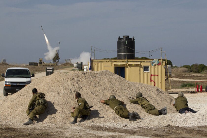 Israel's Iron Dome missile defense drawing praise