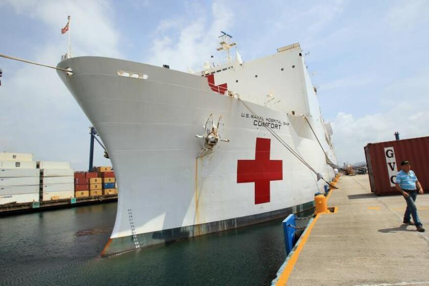 El barco Hospital de EE.UU. inicia atención humanitaria en el Caribe panameño
