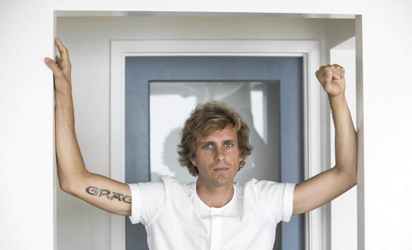 """""""The coolest part about this may be that it's the first time I've had two records to pull from on tour,"""" says AWOLNation's Aaron Bruno."""