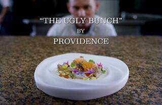 Jonathan Gold on Providence's most iconic dish, ironically called the Ugly Bunch