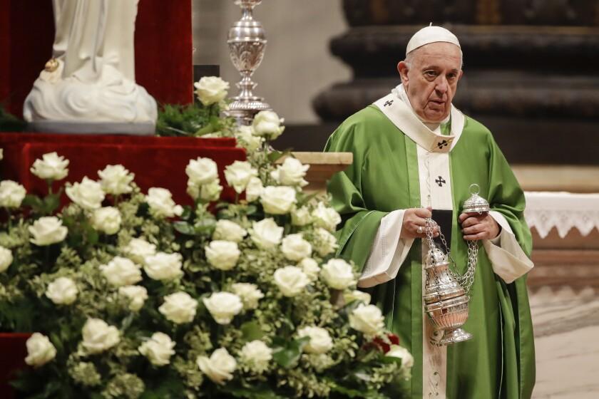 Vatican Pope Poors
