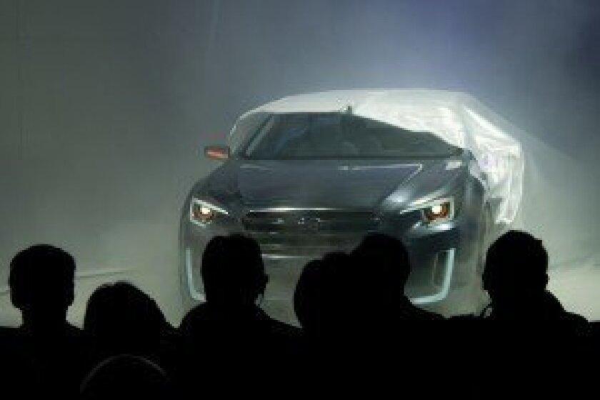 Subaru Legacy Concept debut