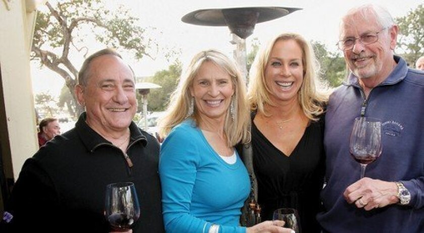 Reiny Giesecke, Judy Giesecke, Kristin Allred, Richard Hoff (Photo: Jon Clark)