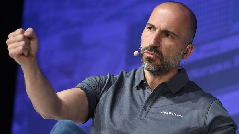 Instead of focusing on stemming losses, Uber CEO Dara Khosrowshahi has prioritized fending off rivals such as Lyft and investing in growth areas such as food delivery.