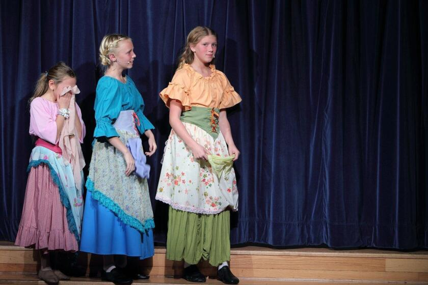 Del Mar Heights Elementary School presents Beauty and the Beast