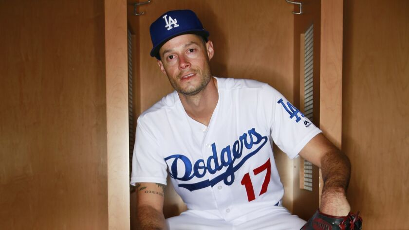 factory authentic 83aa9 2714f Dodgers pitcher Joe Kelly suffers back injury — while ...