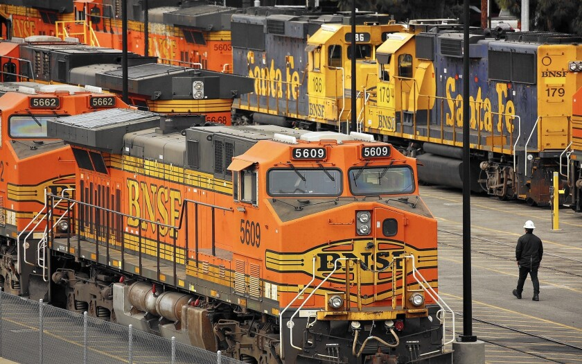 Most of the freight locomotives that Metrolink began leasing to improve rail safety are sitting idle at the cost of $500 each per day.
