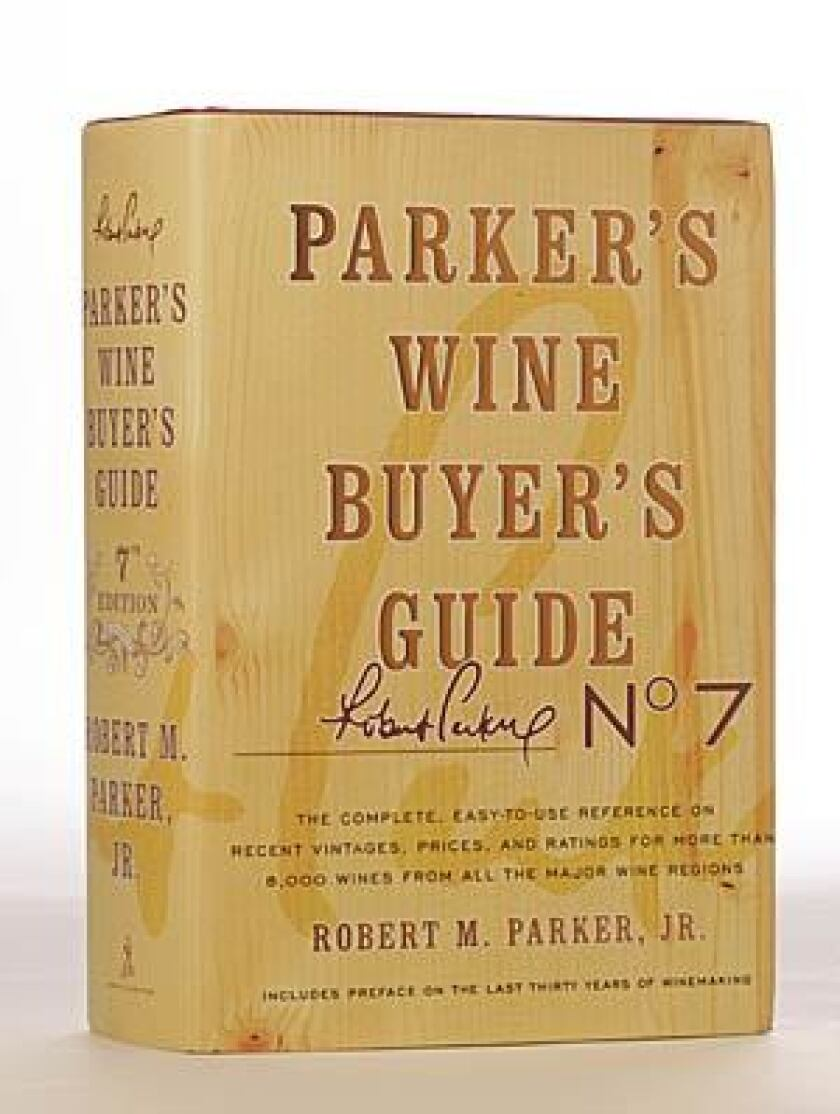 NEW EDITION: Other writers join Robert Parker.