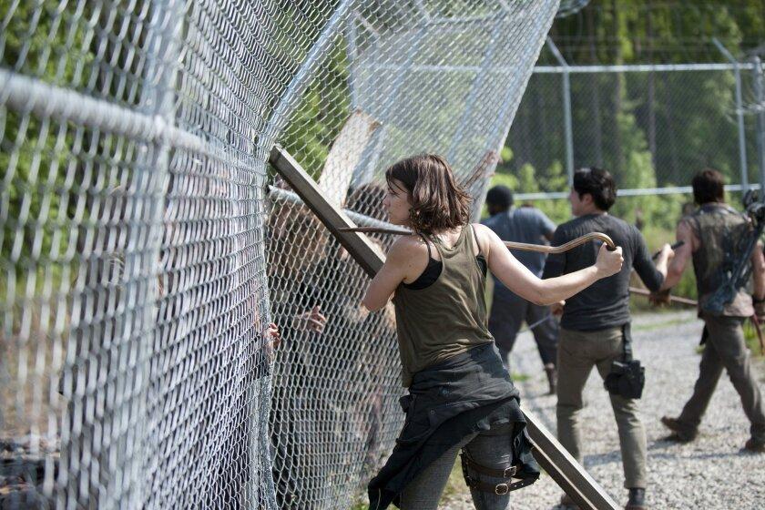 """Lauren Cohan in AMC's """"The Walking Dead."""""""